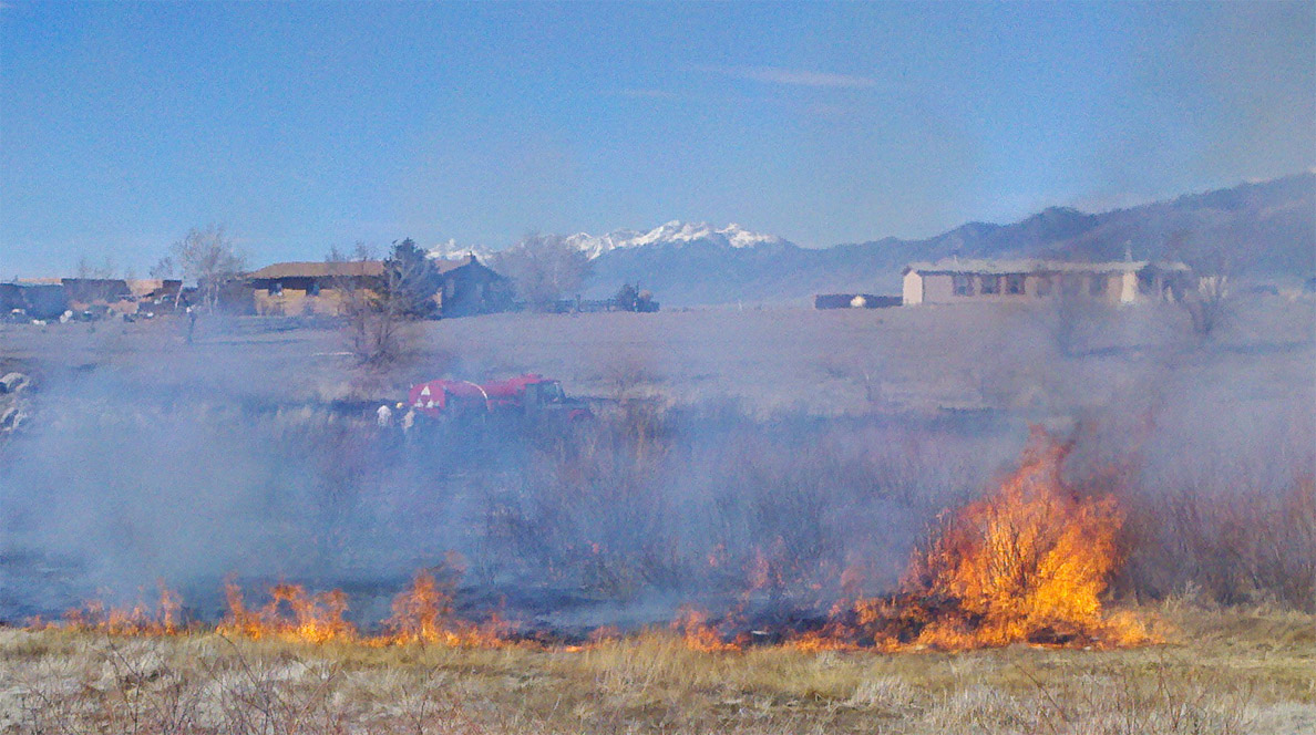 Fire season off to early start with several wind-whipped wildfires & numerous emergency calls