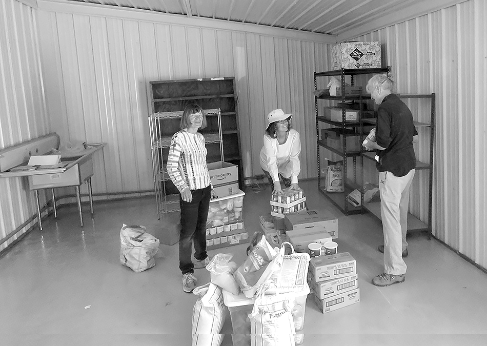 Open house at new Crestone Food Bank space