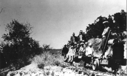 The old train to Crestone