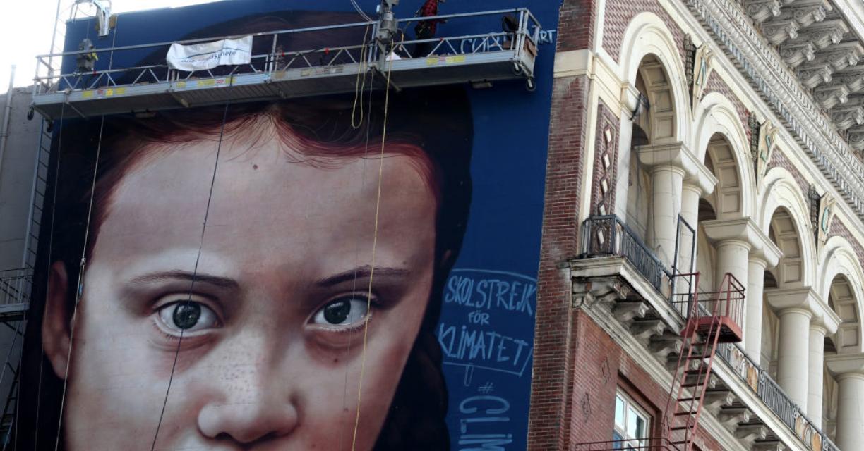 Greta Thunberg, 16-year old climate activist, telling it like it is